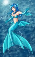 Under the Sea - Colored Merm. by TeraMaster