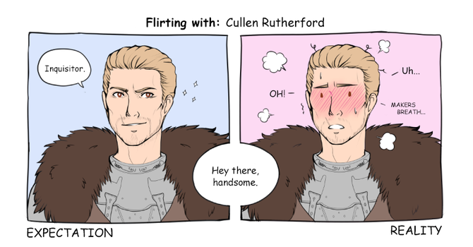Flirting with: Cullen Rutherford by Vaenarys