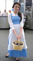 belle with basket of cheer by jpop52