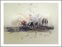 watercolour by Obs3ss1On