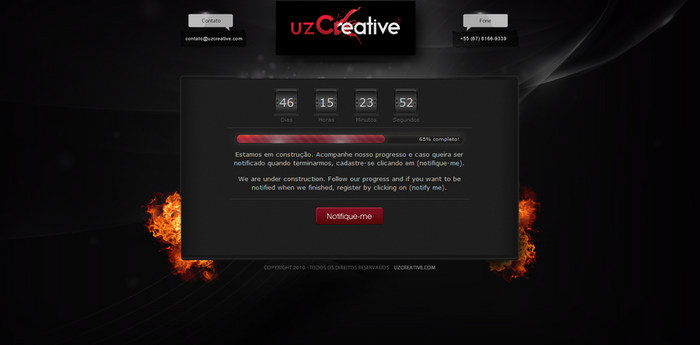 uzCreative under construction by kaedesign