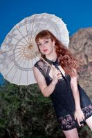 Lace and Parasol by DanielleCory