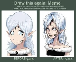 Draw this again meme 4 by Cayys
