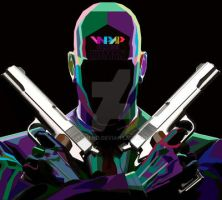 HITMAN N WPAP by YUHEND