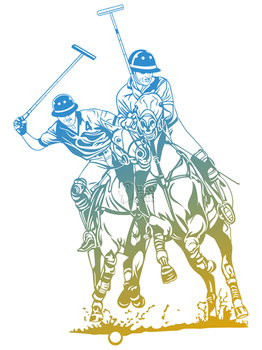 Polo Lineart Vector by ndop