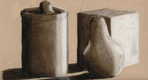 still life with charcoal by IgenSTilch