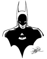 batman sketch by delaneyclark