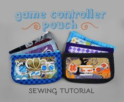 Sewing Tutorial - Game Controller Pouch by SewDesuNe