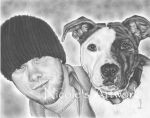 Justin and Champ by Arteestique