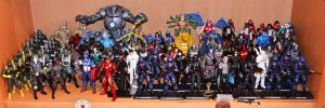 My Marvel and G.I. Joe Collections by ZaEmpera