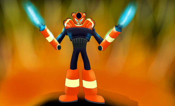 Burner Man Request by Warlord9787