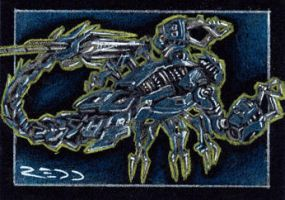 Scorponok II - Sketch Card by J-Redd