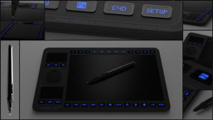 Graphic Tablet concept by sicklizard