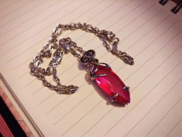 Final Fantasy Necklace by Kastella72