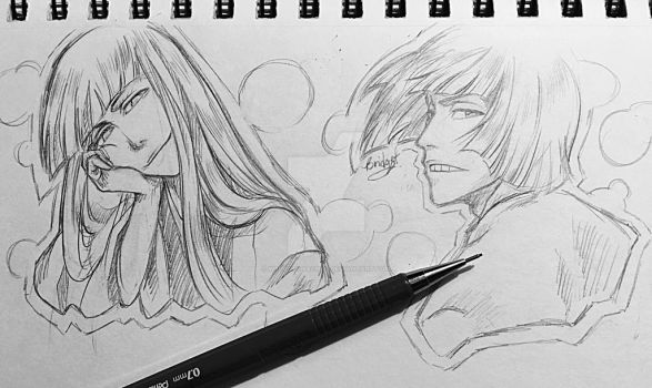BLEACH: Shinji sketches by weekdaynachos