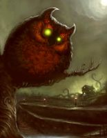 Owl Demon by ScottPurdy