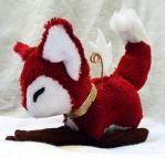 Ruby the fox - fire element by gamef0x