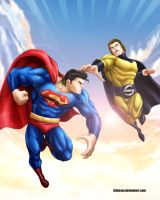 Superman Vs Sentry by 3niteam