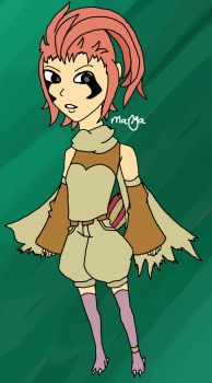 Pidgeotto gijinka CLOSED by mangadoptables