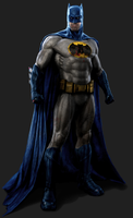 THE DARK KNIGHT RETURNS - Batsuit Manipulation II by MrSteiners