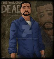 The Walking Dead - Lee Everett by SeBiNoDraw