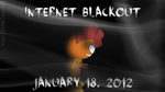 Internet Blackout Day - January 18, 2012 by Marks-Arts