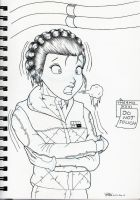 Hoth Leia by Anime-Ray