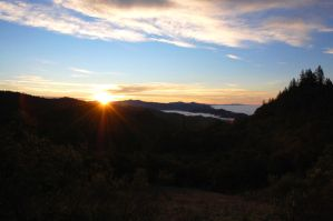 Dawn over the Napa Valley by rebekahlynn-photo