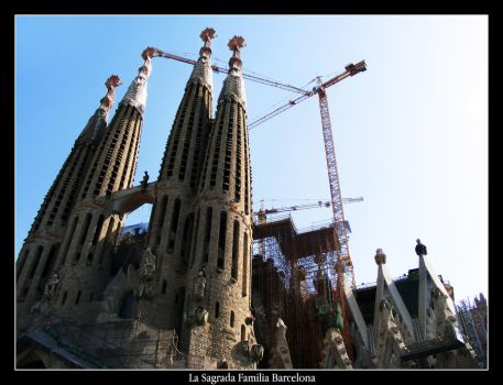 La Sagrada Familia Barcelona 3 by mattsteele17