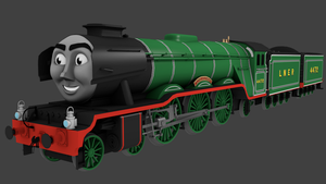 CGI Flying Scotsman by TheChairmaster