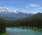 Banff by Choedan-Kal