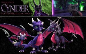 Dawn of Cynder- Collage by StarGriffin