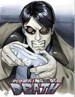 Machine Man Red Ring of DEATH by ComfortLove