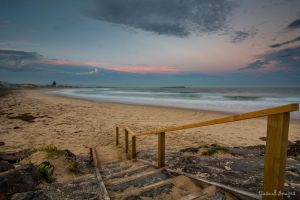 Warilla Beach steps by CasualImages