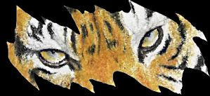 Torn Tiger by Canyx