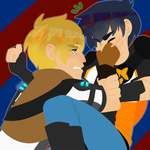 Straight White Boys Wrestling by SkyDreamer12