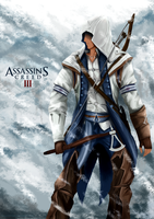 Connor Kenway by Lazy-remnant