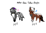 Braylon and Bess's Pups by Paradox-Zee