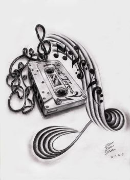Music Cassette Design by ZenBenZen