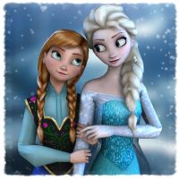 Disney's Frozen: Sisters Love by Irishhips