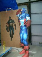 capitan america papercraft by rafex17