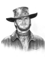 Clint Eastwood by vis151