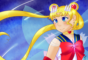 Sailor Moon by Colorless-fantasy