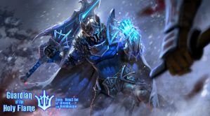 Sven Dota2 set Guardian of the Holy Flame by KeiNhanGia