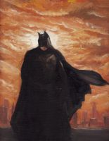 Dark Knight by eddieshred