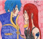 Jellal x Erza by The-Kawaii-Kitty