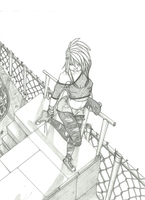 Skate Park Perspective WIP by ObsidianWolph