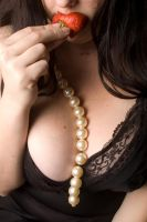 pearls and strawberries... by GoddessWillendorf