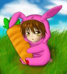 Pink Bunny Toshi by tenmuki by horseygirl818