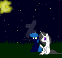 .: MLP : Storm and Sky :. by Rainb0wTwister